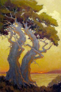 Steven Curry, Steve Curry, California Santa Barbara Scenes, landscapes, Ojai Valley, Seascapes, Waterhouse Gallery, Santa Barbara Art Dealers Association, Santa Barbara Art Galleries