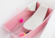 Project Nursery - Stokke Flexi Bath with Newborn Support (in all-new Pink!)