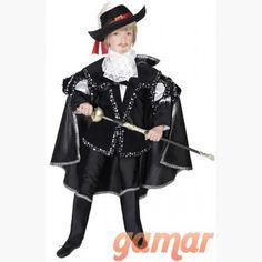 Disfraz Corsario Negro. Disfraces para Niños. Disfraces de Calidad. Fabricación Nacional. www.disfracesgamar.com Lolita Outfit, Goth, Punk, Style, Fashion, Fancy Dress For Kids, Costume, Black, Gothic
