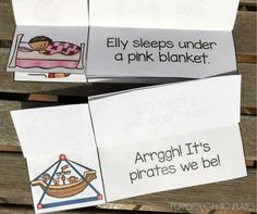 Read for meaning with these free little books!
