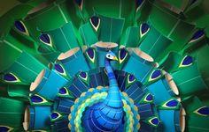 Sherwin Williams Kaleidoscope Peacock TV Ad