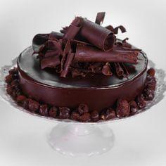 Belgian Chocolate Truffle Cake Martha Stewart