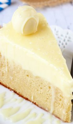 White Chocolate Truffle Cake Recipe