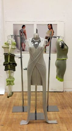 Lin Gao, MA Fashion Knitwear Design, 2013, NTU.