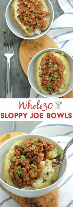 One of the best Whole30 recipes I've ever made. A childhood favorite in a healthier, whole30 compliant version. You'll never go back to your old sloppy joe recipe ever again!