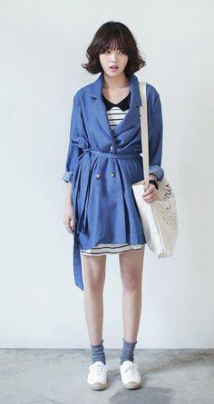 #자켓 #코트 #다홍 #dahong #coat #jacket #daily #데일리 #트렌치코트 # trench coat