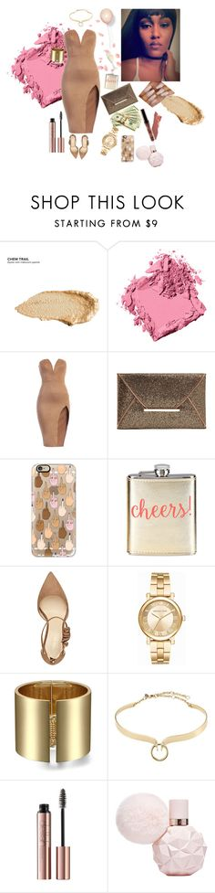 """""""Walkin round this b*tch like it's my birthday."""" by queenerika ❤ liked on Polyvore featuring Urban Decay, Bobbi Brown Cosmetics, Casetify, Neiman Marcus, Nine West, Michael Kors and Alexis Bittar"""