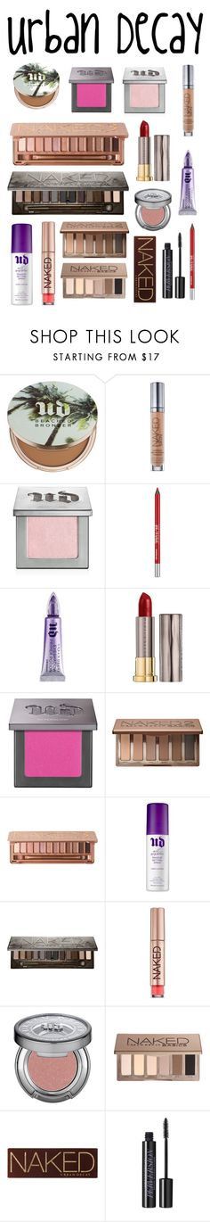 """Urban Decay!"" by aechau ❤ liked on Polyvore featuring beauty and Urban Decay"
