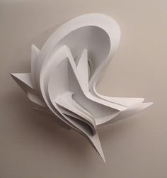 Cardboard sculpture by Peeta