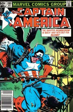 Mike Zeck's Cover for Captain America (Marvel 1968 serie) [Direct Edition] April 1983 Marvel Comics Superheroes, Marvel Comic Books, Fun Comics, Comic Book Heroes, Comic Books Art, Book Art, Marvel Heroes, Marvel Marvel, Comic Book Pages