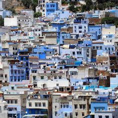 "From cerulean walls to crystal-clear swimming holes, wander through Chefchaouen, Morocco, with Jemma Pietrus (@humanustravel) in today's feature article ""Blue-Hued Beauty"" on passionpassport.com. In her words: ""The city is the laid-back traveler's dream. Hours can be spent lazily meandering through the ancient medina."""