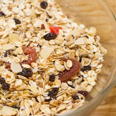 make your own muesli A versatile muesli you can make up in the morning or make in a big batch to have in your pantry Make Your Own, Make It Yourself, How To Make, Muesli, Acai Bowl, Pantry, Breakfast Recipes, Australia, Canning