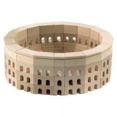 Coliseum World Architecture Blocks - it would be really neat to take your kids to visit these sites after they had the blocks! #oompatoys #habausa