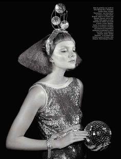 Vogue Italia 'Glitter' Editorial 3