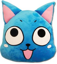 Fairy Tail Cushion: Happy Face #RightStuf2013
