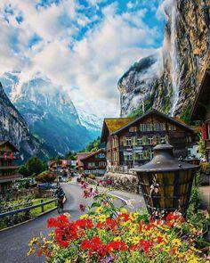 Switzerland it's a beautiful place.