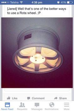 Garage man cave light