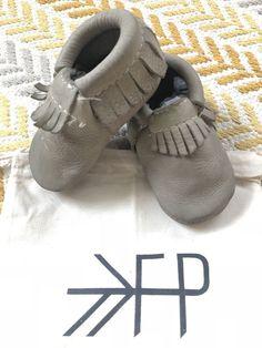 Freshly Picked Sandstone Grey size 3 GUC in Original FP dust bag. Noma  Birchfield · Baby Shoes b00fffe2f
