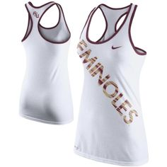 3a57fe2e11879  29.95 Nike Florida State Seminoles (FSU) Ladies Warp Tri-Blend Performance Tank  Top