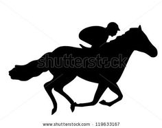 derby horse clip art displaying 20 gallery images for horse race rh pinterest com race horse clip art free Racehorse Drawings
