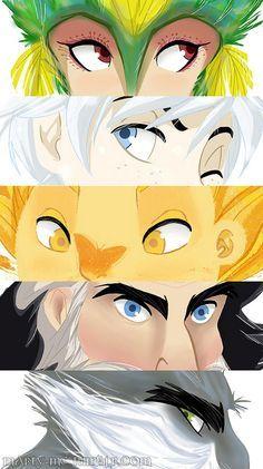 Guardians eyes.