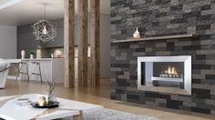 Kamień dekoracyjny Keystone Grafit/Stone Master. Produkt zgłoszony do konkursu Dobry design 2018. Indoor Outdoor, Stone, Home Decor, Patterns, Design, Block Prints, Rock, Decoration Home, Room Decor