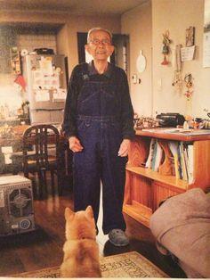 おじいさんと柴犬 shibainu