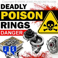►► DEADLY POISON RINGS ►► Jewelry Secrets