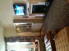 Sala de estar do hotel Adria - Londres (lado direito)