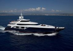 Baglietto's Burkut Superyacht Now Chartering for $273k
