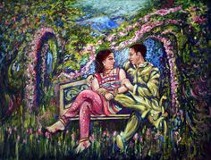 Romantic Painting - If I Will Get Your Love by Harsh Malik