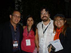 Con el director de @Emprendo Venezuela y su esposa en la Tormenta Creativa 2012.
