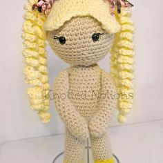 Free crochet doll pattern the friendly sophie crochet doll just my size sammy doll crochet pattern by amber schaaf knotted notions dt1010fo