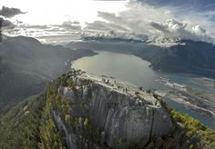 Oc Stawamus Chief, First Height, Squamish, British Columbia, Photographed With A Drone 2815x1966