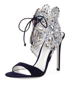 Rene Caovilla| Reposted by | http://stores.ebay.com/Fashionista-Princess-Jewelry