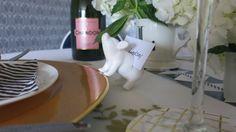 #placecard holder #pigplacecardholder #tabletopdecor.