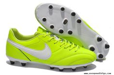 Nike The Premier FG Boots Volt/White