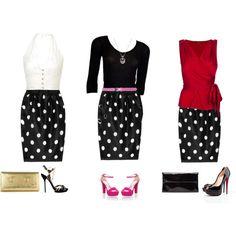 1 Skirt - 3 Ways
