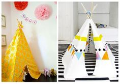 Thrifty Tuesday: DIY Teepees