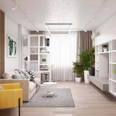 Small Apartment Interior, Studio Apartment Decorating, Interior Design Living Room, Living Room Designs, Ikea Living Room, Living Room Goals, Apartment Color Schemes, Piece A Vivre, Interior Architecture