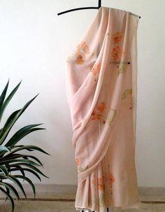 Floral Print Sarees, Saree Floral, Printed Sarees, Organza Saree, Net Saree, Chiffon Saree, Silk Sarees, Beautiful Blouses, Beautiful Saree