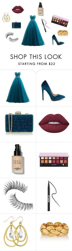 """Ball"" by meggieb7 on Polyvore featuring Wilbur & Gussie, Lime Crime, Bobbi Brown Cosmetics, Anastasia Beverly Hills, Trish McEvoy and Ardency Inn"