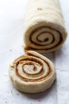 Easy Fluffy Eggnog Cinnamon Rolls   halfbakedharvest.com/
