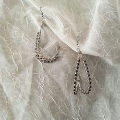 Black Diamond drop earrings