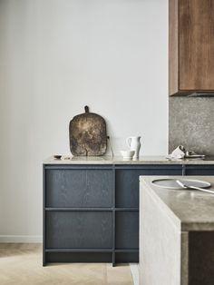 Home Interior Salas The oak kitchens by Noriska Kk.Home Interior Salas The oak kitchens by Noriska Kk Interior Desing, Interior Design Kitchen, Interior Inspiration, Interior Colors, Design Inspiration, Interior Livingroom, Interior Modern, Kitchen Designs, Modern Decor