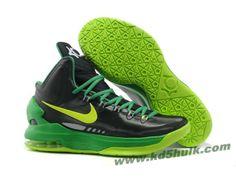 Nike Zoom KD V 5 Black Green Basketball Shoes