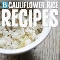 cauliflower rice substitute - Yahoo Image Search Results
