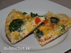 Zeleninový koláč - Výborný slaný koláč, plný zeleniny
