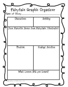 1000 images about fairy tales on pinterest fairy tales graphic organizers and anchor charts. Black Bedroom Furniture Sets. Home Design Ideas