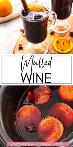 This delicious Mulled Wine is so easy to make and perfect for cozy nights in or your next holiday party. Plus, it fills your home with the perfect holiday fragrance. You can either make it on the stovetop or in the Crock Pot!